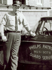 Historic photo of Phelps Security Officer in Memphis, TN.